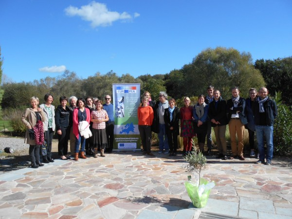 """The olive tree """" QUAMELYA """" has been planted in Saint Herblain's Agricultural High school: headquarters of France EUROPEA"""