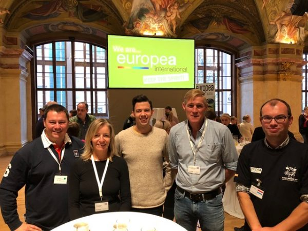 Delegation of LTA in Vienna: Nicolas, Annick, Joe Flies, Fons Logtenberg, Ronny Krier