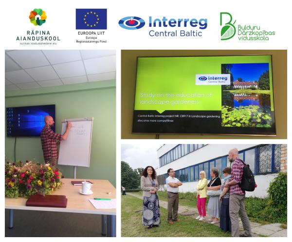 Photos: Project team meeting in Jurmala, July 13th 2020. (Photographed by Lüüli Kiik and Katrin Uurman)